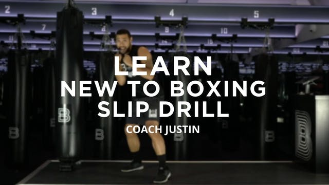 Learn - New To Boxing: Slip Drill