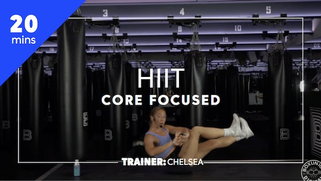 20min Core Focused HIIT