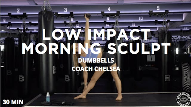 30min Low Impact Morning Sculpt