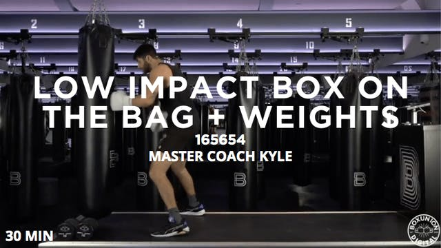 30min Low Impact Box on the Bag + Wei...