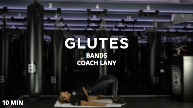 10min Glutes w/ Bands