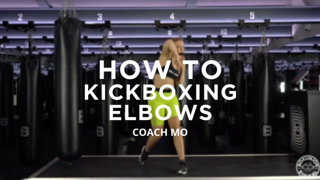 How To - Kickboxing: Elbows