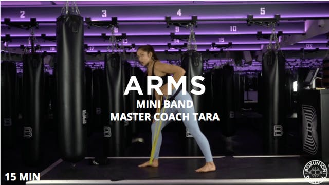 15min Arms w/ Mini Bands
