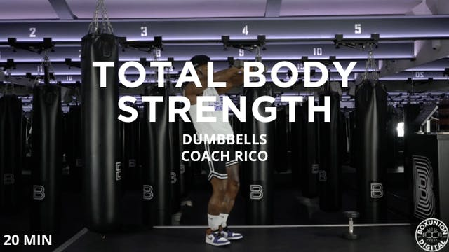 20min Total Body Strength