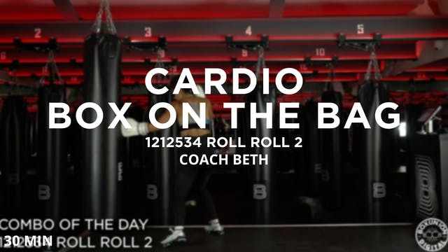 Cardio Box on the Bag - 11/11/2020