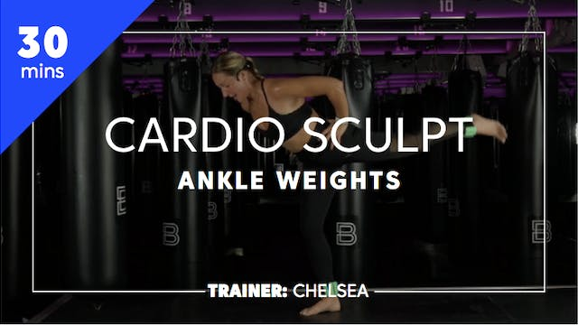 30min Cardio Sculpt w/ Ankle Weights