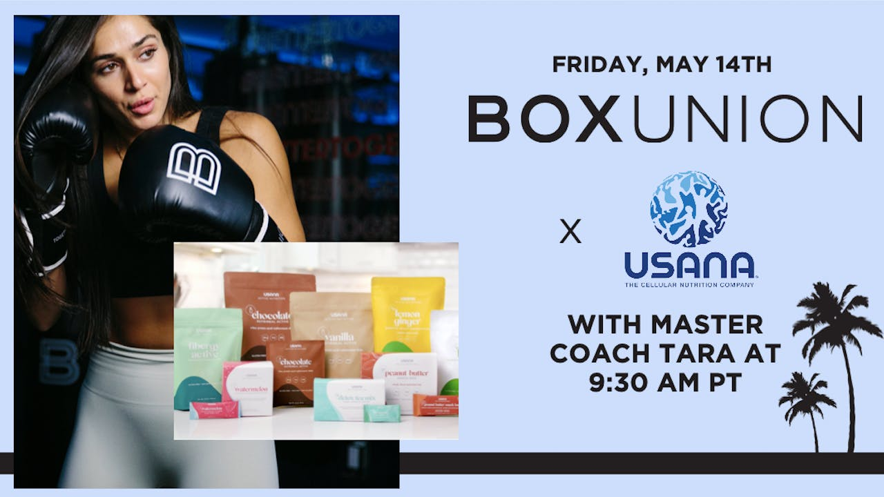 BoxUnion x USANA Shadowbox with Master Coach Tara