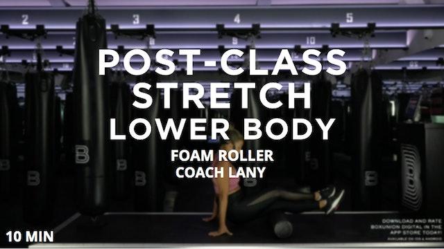 Post-Class Stretch: Lower Body
