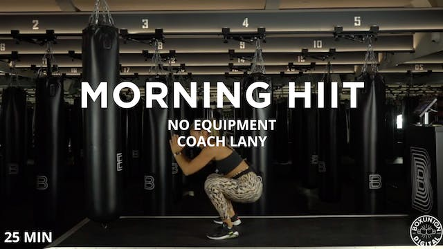 Morning HIIT