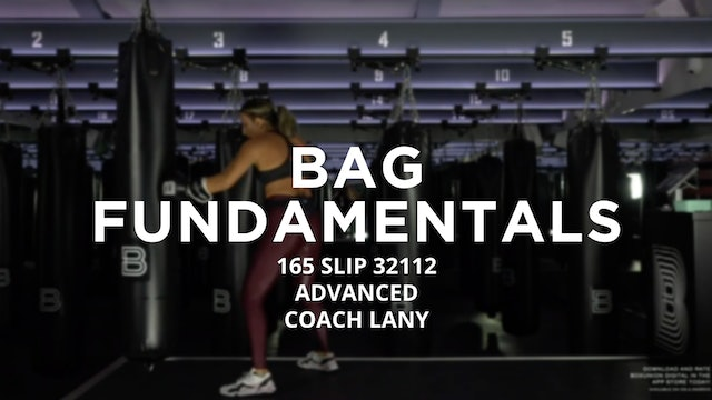 Bag Fundamentals - Advanced: 165 SLIP 32112
