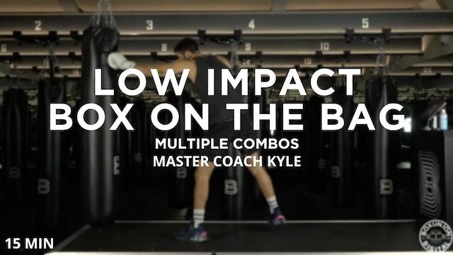 15min Low Impact Box on the Bag