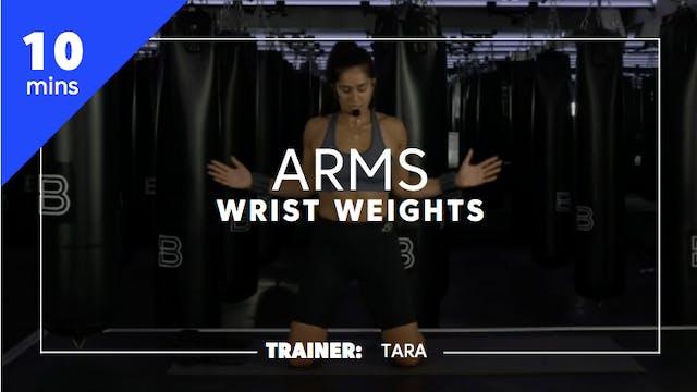 10min Arms w/ Wrist Weights