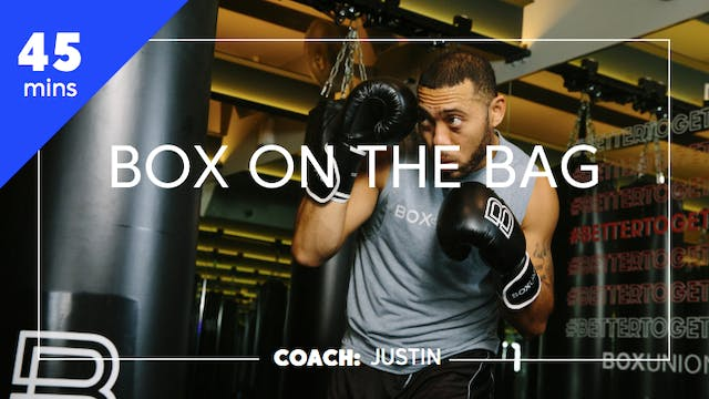 Encore Box on the Bag with Coach Justin