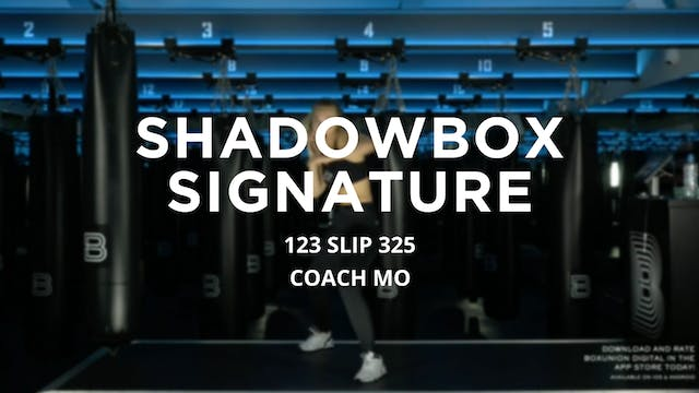 Shadowbox Signature - 6/9/2020