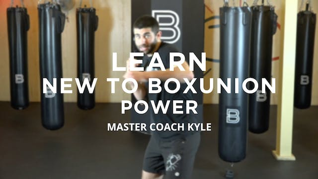 Learn - New To BoxUnion: Power