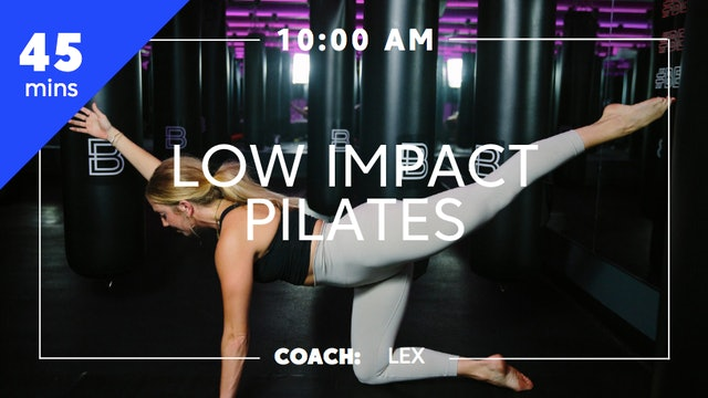 Low Impact Pilates with Coach Alexis