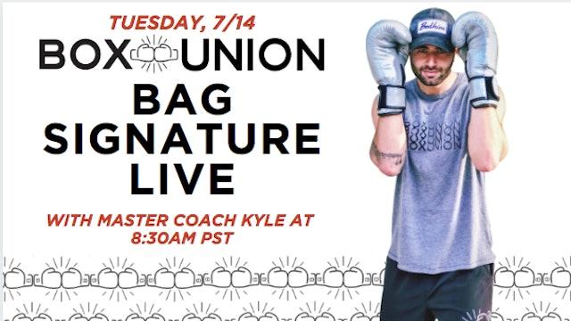 LIVE Bag Signature Class with Coach Kyle
