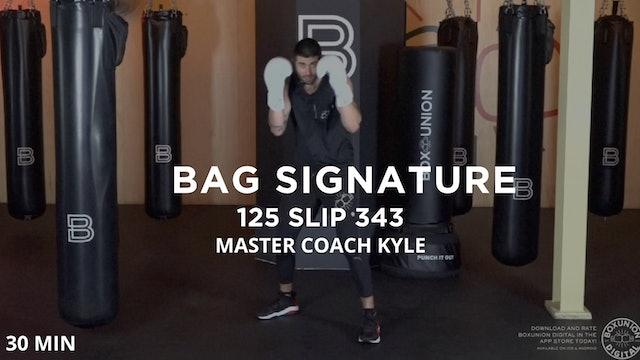Bag Signature - 5/22/20