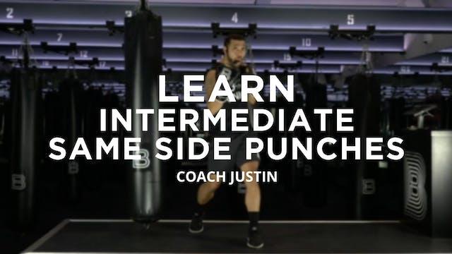 Learn - Intermediate: Same Side Punches