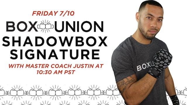 LIVE Shadowbox Signature with Coach J...