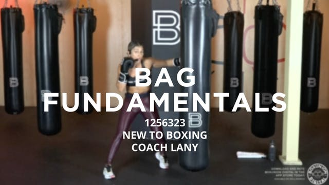 Bag Fundamentals - New To Boxing: 125...