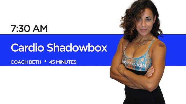 Cardio Shadowbox with Coach Beth