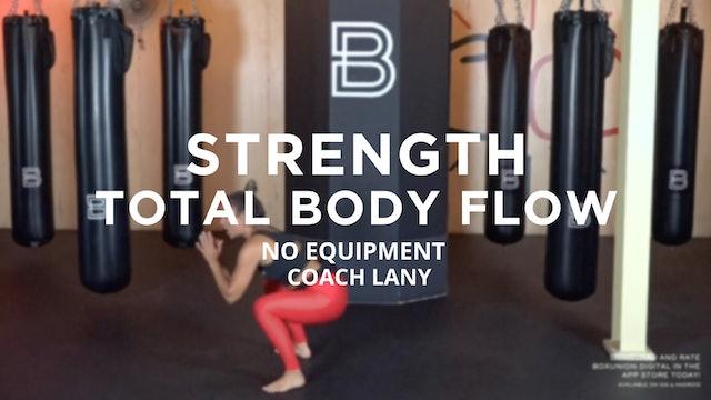 Strength - Total Body Flow: No Equipment