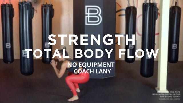 Strength - Total Body Flow: No Equipment