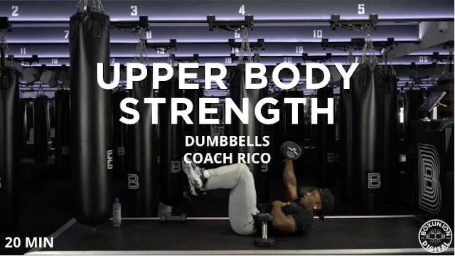20min Upper Body Strength