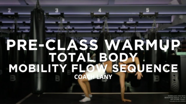 Pre-Class Warmup - Total Body: Mobility Flow Sequence