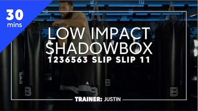 20min Low Impact Shadowbox