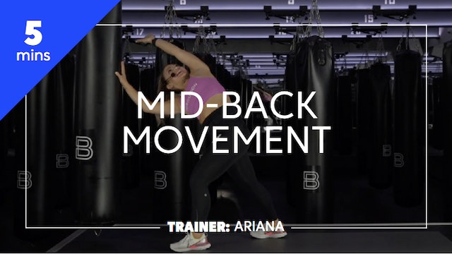 5min Mid-Back Movement