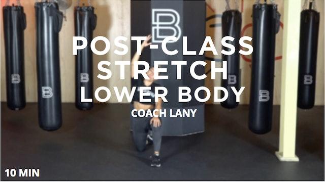 Post-Class Stretch - Lower Body