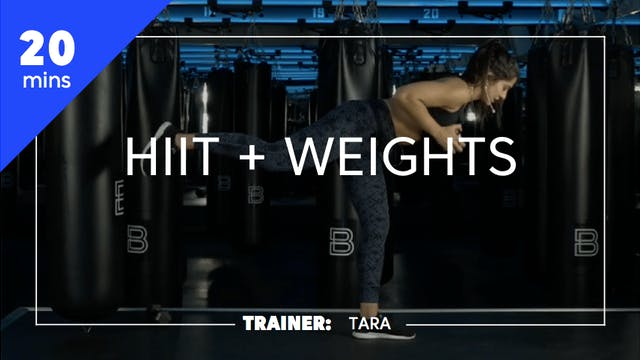 20min HIIT + Weights