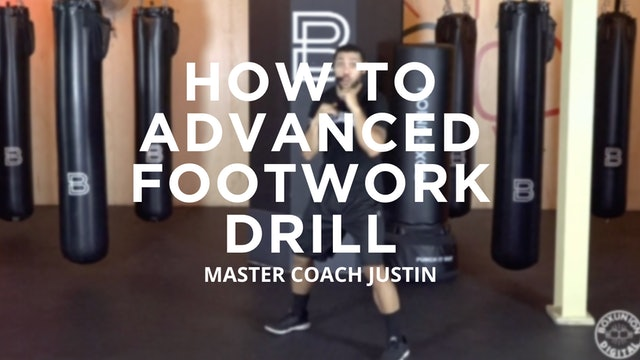 How To - Advanced: Footwork Drill