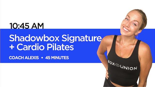 Shadowbox Signature + Cardio Pilates ...