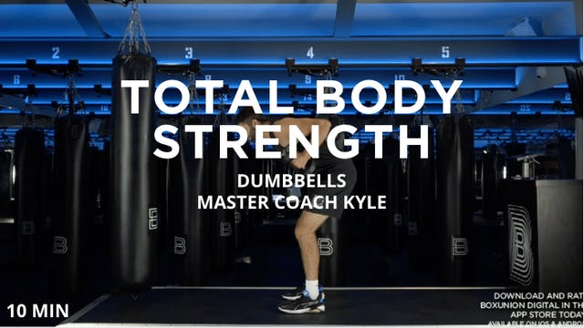 10min Total Body Strength