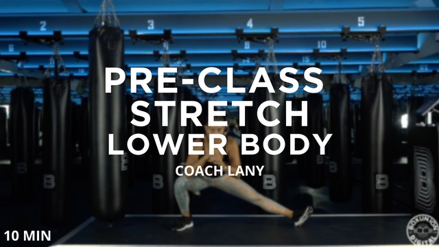 Pre-Class Warmup - Lower Body