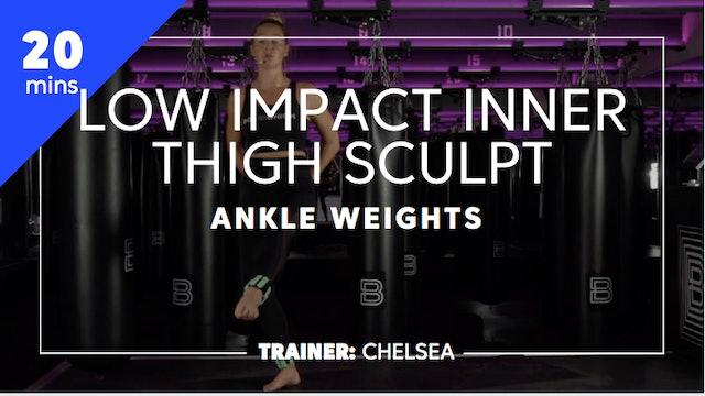20min Low Impact Inner Thigh Sculpt
