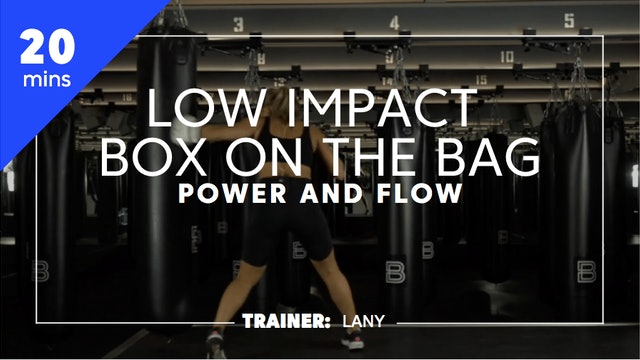 20min Low Impact Box on the Bag