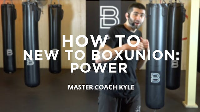 How To - New To BoxUnion: Power
