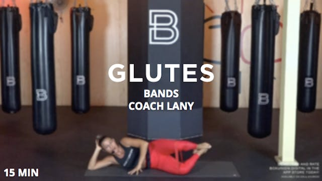 15min Glutes w/ Bands