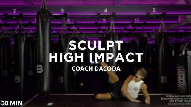 Sculpt – High Impact – 9/2/2020