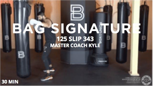 Bag Signature - 5/22/2020