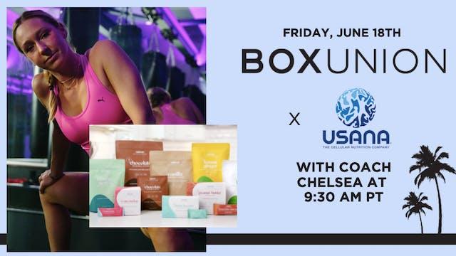 BoxUnion x USANA Shadowbox with Coach...