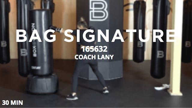 Bag Signature - 4/22/2020