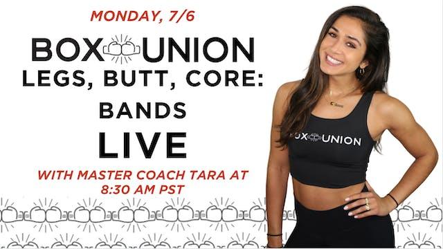 LIVE Legs, Butt, Core: Bands Class wi...