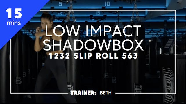 15min Low Impact Shadowbox