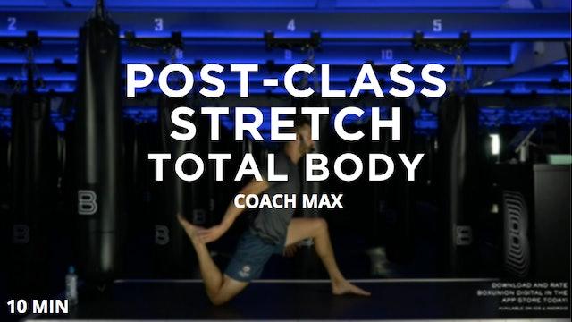 Post-Class Stretch: Total Body