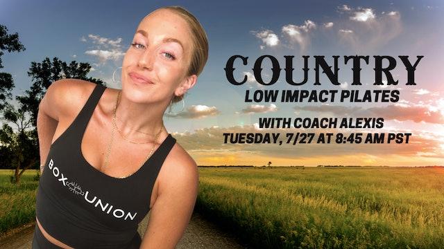 Encore Low Impact Pilates with Coach Alexis